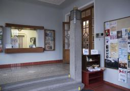 Entrance hall and cloakroom