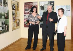 2010 – SVK in Opole, opening the Karel Čapek exhibition