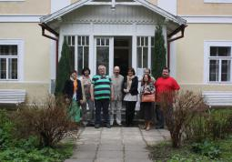 2011 – colleagues from Opole in Kladno and in Strž in Památník Karla Čapka