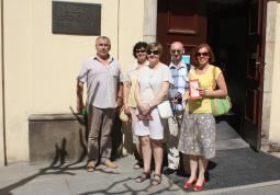 2013 – colleagues from Opole in the National Library of the Czech Republic