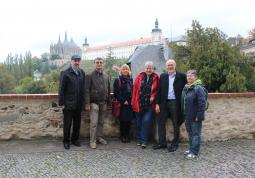 2016 – colleagues from Koblenz in Kutná Hora