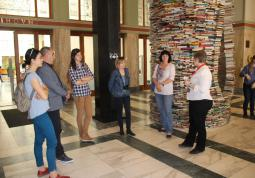 2017 – visit from Opole at the Municipal Library of Prague