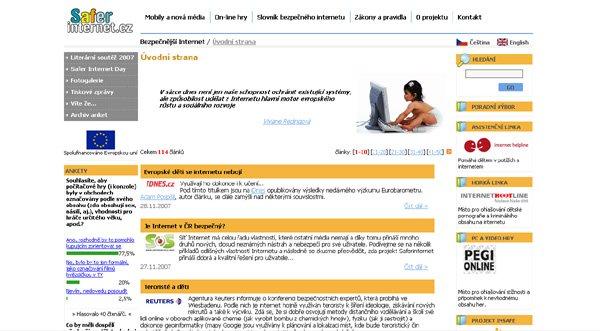 Seznamování zakázaných webů