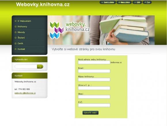 Webová stránka s handicapem zdarma